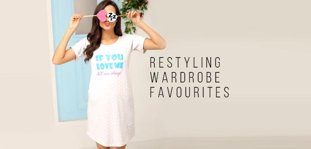 Restyling Wardrobe Favourites – Night Dresses | nighty, nighty dress, ladies nighty, nighties online
