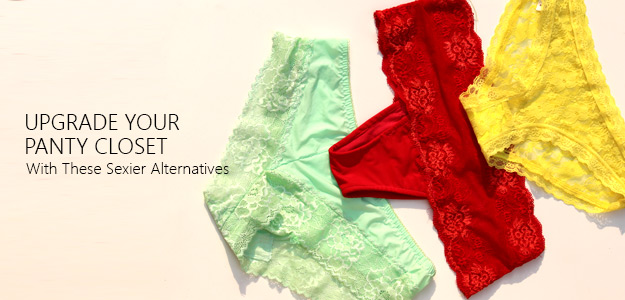 Upgrade Your Panty Closet with These Sexier Alternatives
