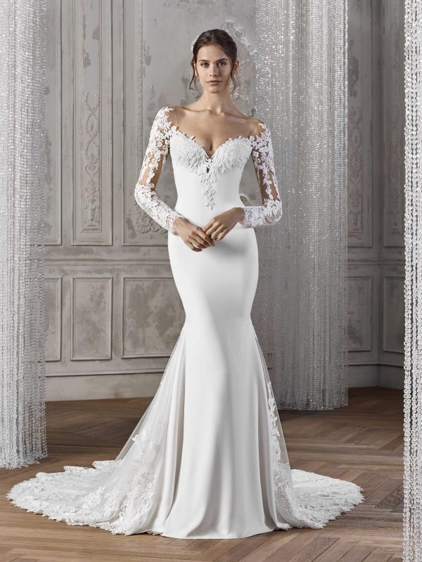 Fitted Bridal Dress