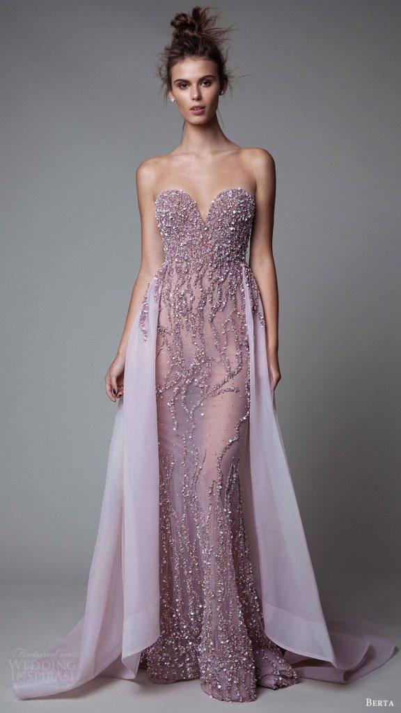 Deep Neck Bridal Dress