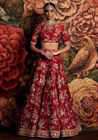 Heavily Embellished Bridal Dress