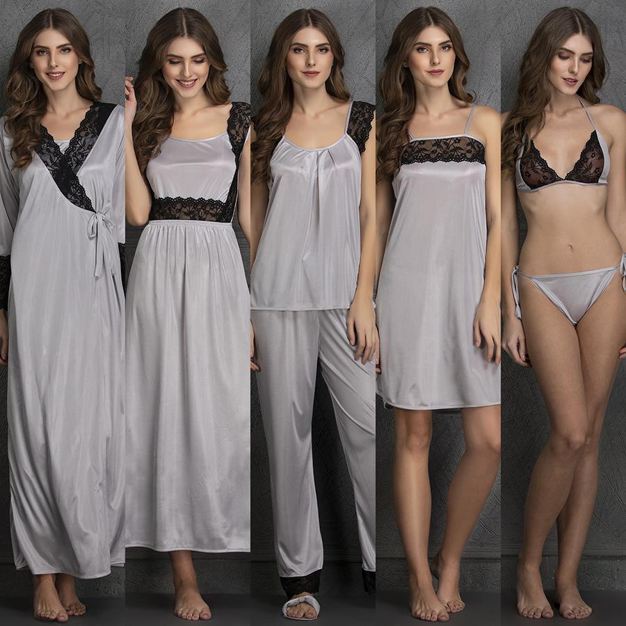 Satin Nightwear Set