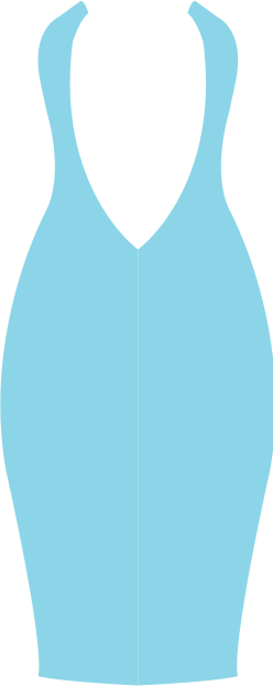 Bra with Low-back Converter